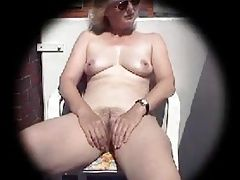 51 year old wife masturbates on...