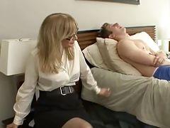 Blonde Milf Fucks A Horny...