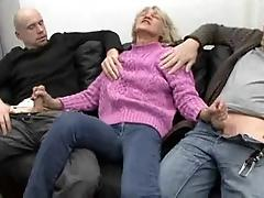 Horny Insatiable Granny Is A...