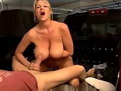 Milf with Big Tits Fuckin and...