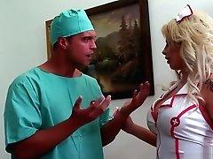Hot Nurse Brooke Haven Fucks Hard
