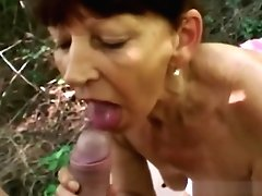 Matures Chesty Dark-haired Lady...