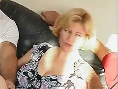Vintage Curvy Mature threesome...