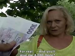 amateur mature fuck for money...