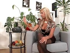Hot European MILF wants a young...
