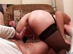 French mature mega-slut getting...