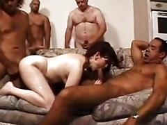 Misty's Mature Group sex