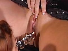 Hot mistress educates her sexy...