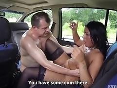 Orgy With Real Whore In The Car
