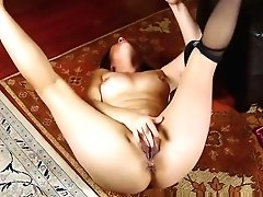 Mom In Pantyhose Takes Her...