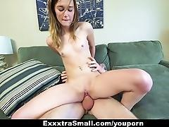 ExxxtraSmall - Petite Redhead...