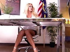 Office Ho Licks Jizz Toes