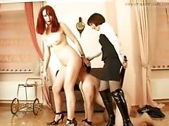 two mistress fucking that stud