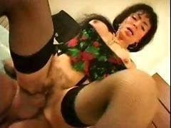 Mature chick the sexier twat and...