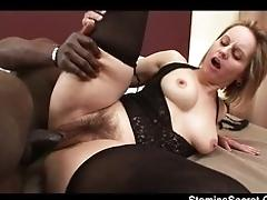 Disgracing a big booty woman...