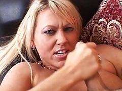 Horny MUMMY strokes your beef...