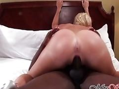 Hotwife Fucks BIG BLACK COCK as...