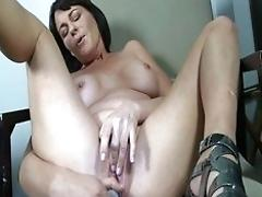 Picked up to work her fuck stick