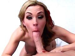 Taunting Breasty Cougar Tanya...