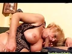 Mature stunner fucked hard