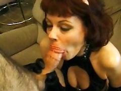 Mature fuckbox mega-slut sucking...