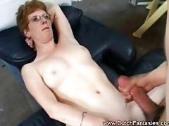 Horny mature women gets fucked