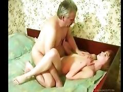 Russian dad fucks his daughter