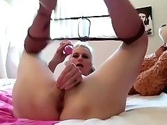 Creamy Messy Cougar Gags For...