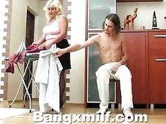 Big Huge-chested MUMMY Seduced...