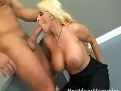 MUMMY at work gets fucked by...