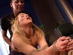 Lezzie Domination Spanking Her...