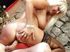 Big-titted mature cockslut...