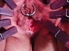 Mature puss gets tantalized
