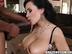 Brazzers - Lisa Ann takes a big...