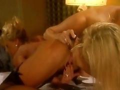Blonde girly-girl moms intimate...