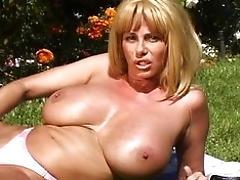 Big-chested MUMMY Penny Porsche...