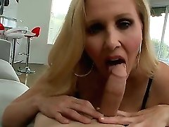 Big titted blonde mummy Julia...