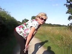 Unfaithful Brit Cougar Lady...