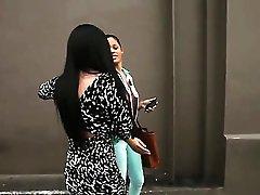 Dark-haired Angelina Mylee With...