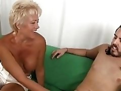 Horny Tracy Inhales A Hard Pecker