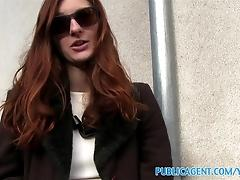 PublicAgent Naughty redhead...