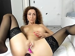 Hot Mummy With Big Fake Penis In...