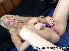 Swedish MILF Masturbating to a...
