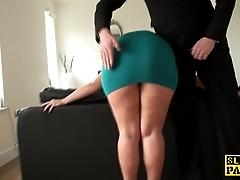 Mature sub assfucked until red...