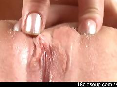 Abigail Fingers Clit Until Orgasm