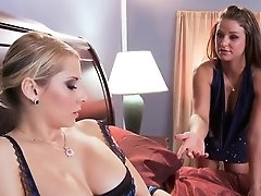 Madison Ivy Measures The Level...