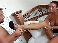 Curvy Latina Cougar Gets Pounded...