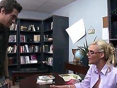 Blonde Librarian Phoenix Marie...