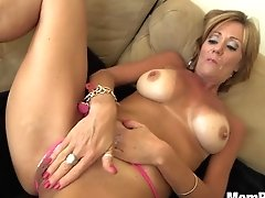 44 Year Old Cougar Takes Facial...