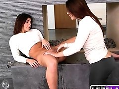 Lesbo Honeys Leah Gotti And...